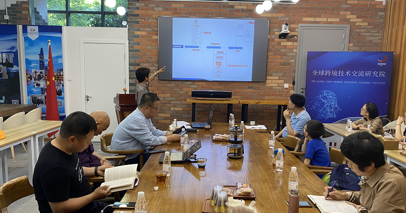 Global Cross-Border Technology Exchange Research Institute Undertakes Shanghai Quzhou Chamber of Commerce Reading Club Activities-SHLINGANGIC